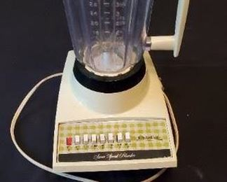 $5 - Sears Counter Craft 7 speed blender