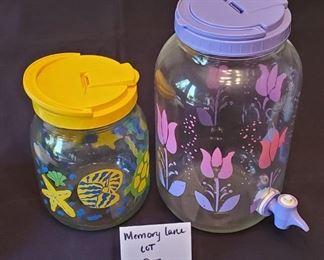 $3/both - 2 tea jars