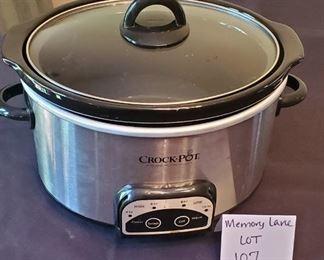 $8 - Crockpot 4-qt. slow cooker