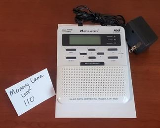 $10 - Midland weather radio