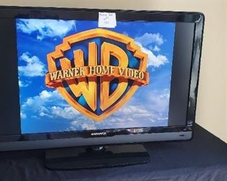 """$75 - Magnavox 42"""" TV 2008 no remote"""