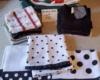 $12 - Kitchen towels! (3 Martha Stewart towels, 7 other kitchen towels & 9 washcloths)
