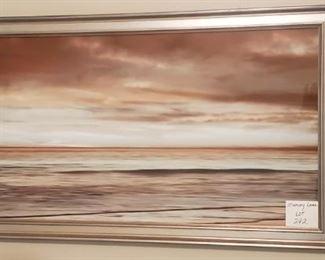 """$50 - Ocean Print 43"""" X 23"""""""