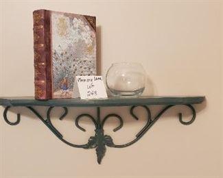 "$10 - 23"" long wall shelf and home decor"