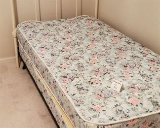 $75 - Twin Cast-iron bed