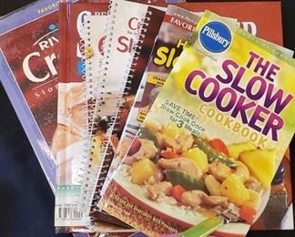 $6 - Slow cooker cook books