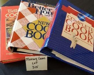 $10 - 3 cookbooks