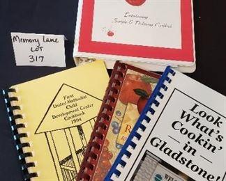$6 - 4 cookbooks