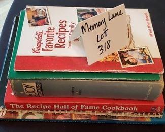 $8 - 6 cookbooks