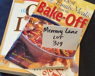 $3 - 3 baking cookbooks