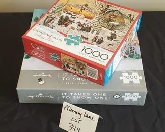 $10 - 2 puzzles - One new-never opened