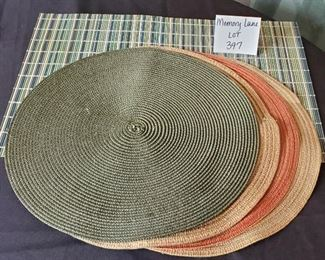 $2 - Misc. placemats (5 total)