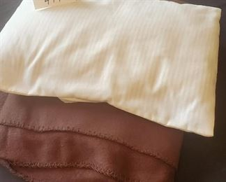 $2 - Baby pillow & thin blanket