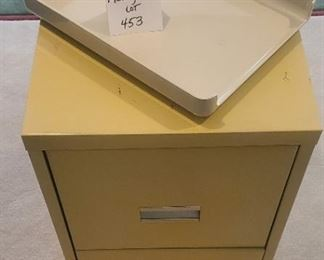 $10 - File cabinet & tray