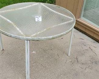 "$20 - 42"" round patio table"