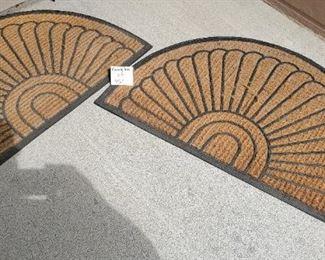$12 - 2 door mats