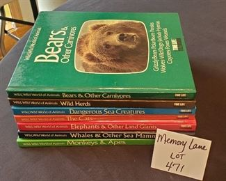 $10 - Time Life World of Animals books (7)