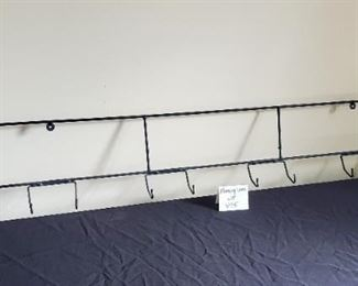 $8 - Metal Wall Plate holder- holds 4 plates