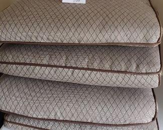 $20 - 4 outdoor chair cushions