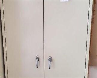 $40 - Metal Cabinet 3'x 6' no key