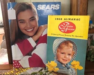 1992 Sears catolog, 1968 almanac w/picture of Paula on front:)