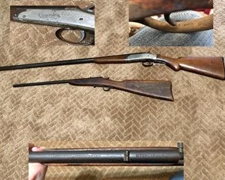 Columbia Shotgun 2905, Stevens Junior Model 11-22 long rifle, July 7, 1904