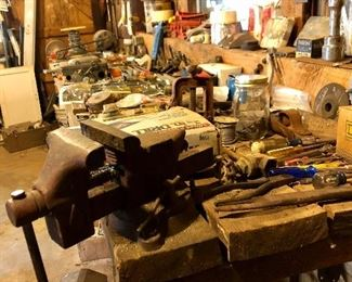 Tools galore! Come and see what YOU can find! :)