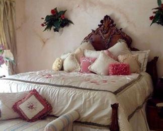 Ralph Lauren King Bed