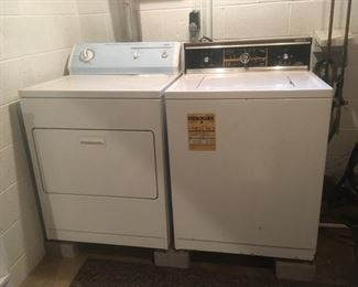 Washer and Electric Dryer (Sold Separately)