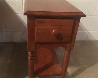 Narrow, Single-Drawer, w/Shelf Utility Table