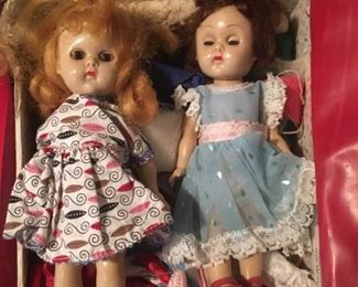 Little Ginny or Jenny Dolls? and Clothes