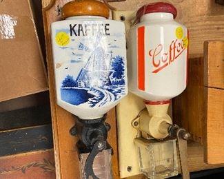 Dutch Style Grinder $45. Red grinder sold.