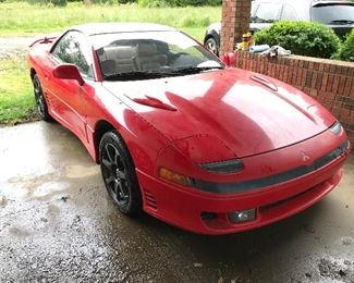 Rare 1992 Mitsubishi 3000GT VR-4 Manual.  @173,000 miles. Leather interior, manual transmission, aftermarket rims with originals included.