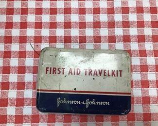 Johnson & Johnson First Aid Travel Kit.