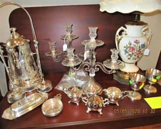 Assorted Silver & Sterling Accessories...