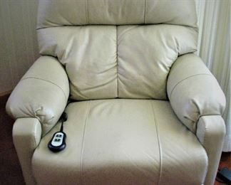 Leather Remote Electric Recliner
