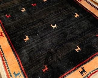 Handmade Gabbeh Iranian area rug - $2,400 or best offer - NOT ELIGIBLE FOR 50% OFF