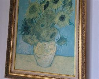 Reproduction of Van Gogh