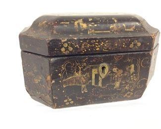 "Decorative Box, 4"" H x 8"" W."
