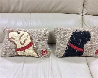 Labrador Pillows.