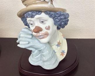 Lladro, Melancholy Clown, 5542.