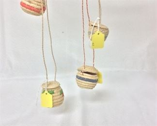 Hanging Mini Baskets, Venezuela.