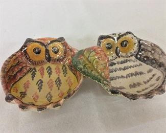 """Owl Ash Tray, 8 1/2"""" W."""