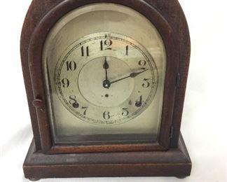 """Seth Thomas Mantel Clocks, 11"""" H."""