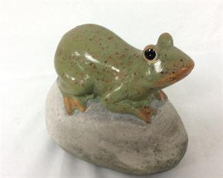 """La Vaisselle Frog, 6"""" H."""