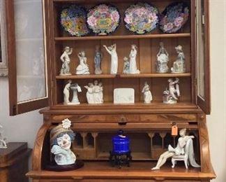 Antique Victorian Cylinder Desk.