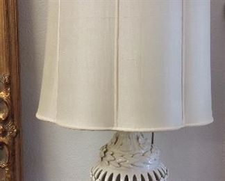 Pair of Porcelain Table Lamps.