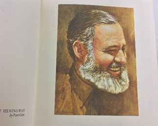 Ernest Hemingway, The First Forty-Nine Stories. Limited Edition This limited edition is published by The Franklin Library exclusively for subscribers to The Collected Stories of the World's Greatest Writers. Bound in Leather. Gilt Edges. Satin Page Marker.
