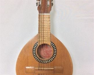 "Spanish 12-stringed Instrument, Salvador Ripolles, Spain, 24"" L."