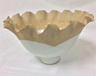 "Decorative Bowl, 6 1/4"" H, 11"" diameter."